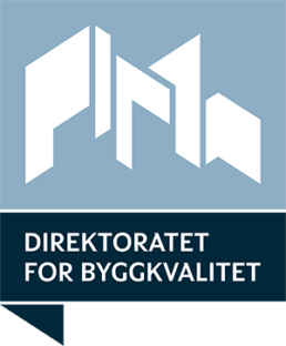 Direktoratet for byggkvalitet logo